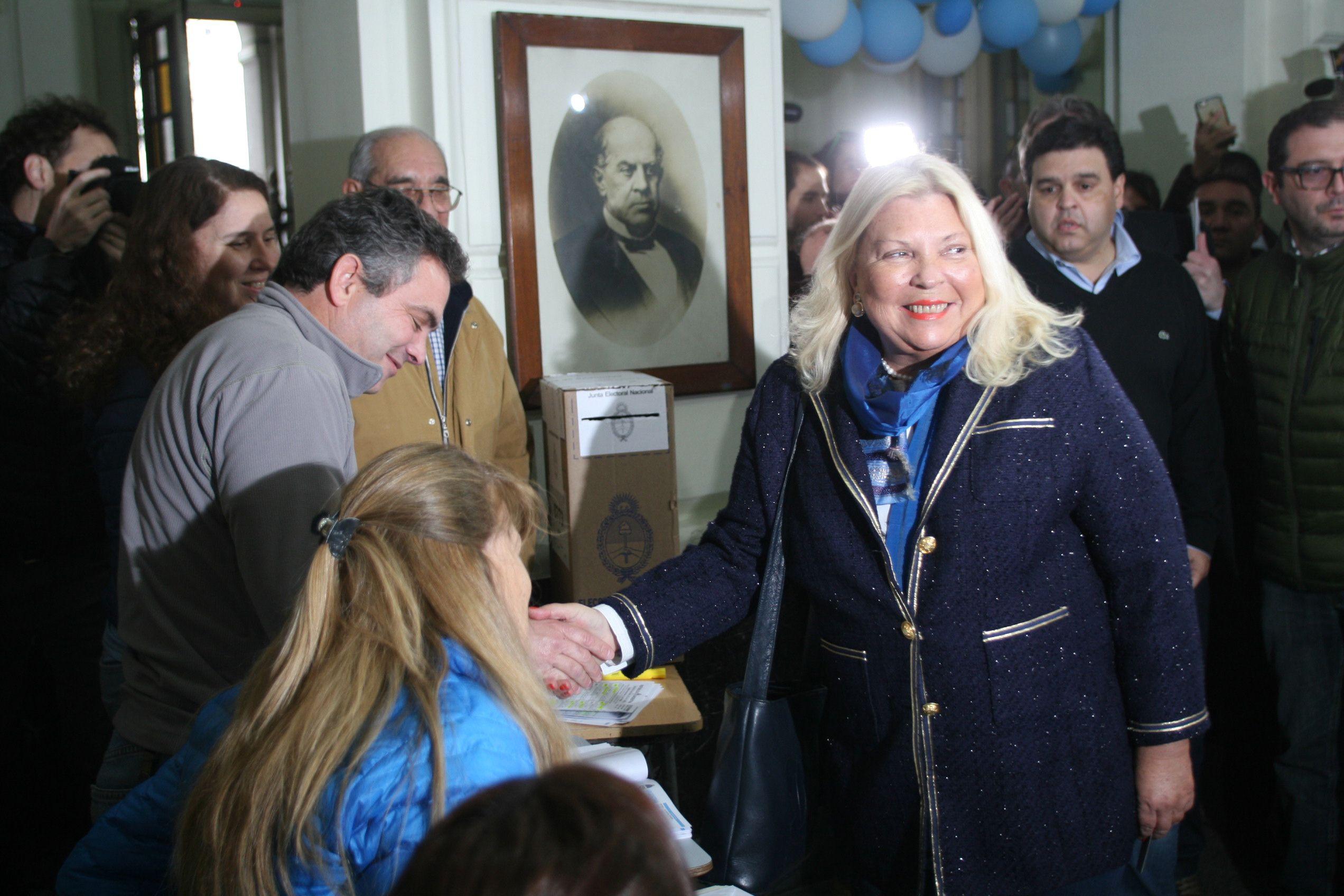 Histórica elección de Carrió en las PASO 2017: No estoy acostumbrada a ganar