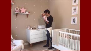 Mariano Martínez publicó una foto con su hija Alma.
