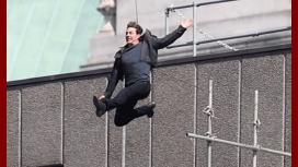 Tremenda caída de Tom Cruise en pleno rodaje