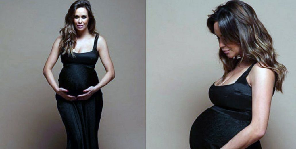 Josefina Pouso fue madre por segunda vez