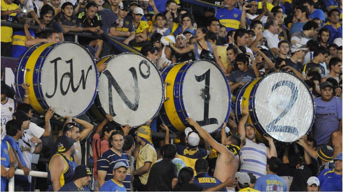 Gary Medel y su homenaje a la hinchada de Boca