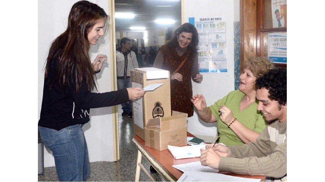 PASO: unos 1.125.500 jóvenes de entre 16 y 18 años podrán votar