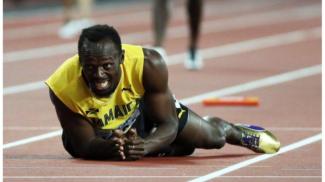 Usain Bolt se lesionó en su última carrera