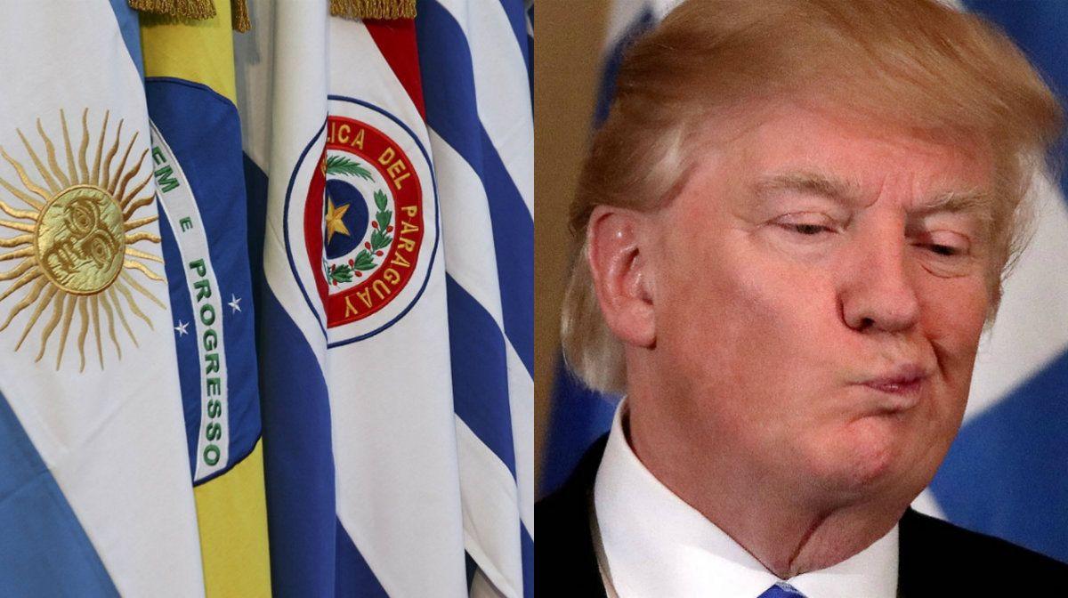 El Mercosur rechazó la opción militar planteada por Trump para Venezuela