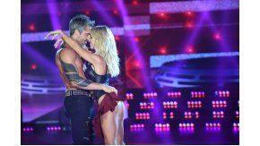 Rocío Guirao Díaz y Nicolás Paladini en una coreografía a puro amor