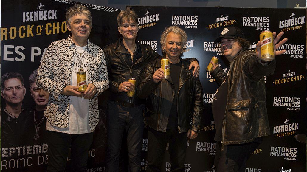 Los Ratones Paranoicos anticiparon su show en el Hipódromo de Palermo