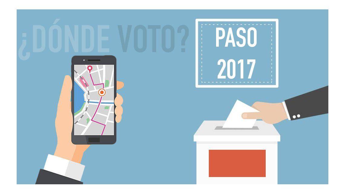 ¿Dónde voto en las PASO?