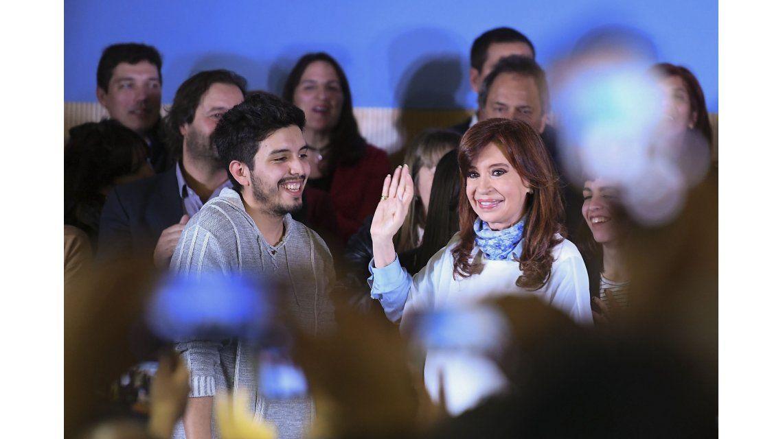 Cristina pidió un voto contra el Gobierno, con fuertes críticas a Macri y Vidal