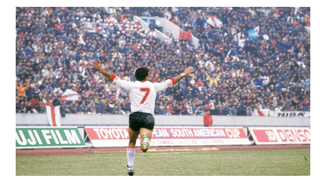 El recordado festejo del uruguayo en Japón