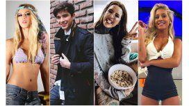 Flor Vigna, Julián Serrano, Cande Tinelli y Sol Pérez causan furor en las redes