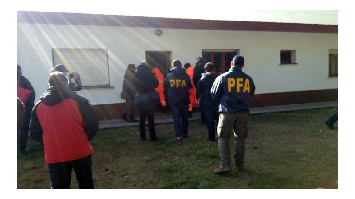Exclusivo: así es el allanamiento a la sede de Gendarmería por la desaparición de Maldonado