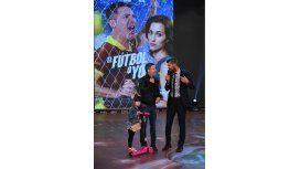 Adrián Suar en su última visita a Showmatch con Margarita