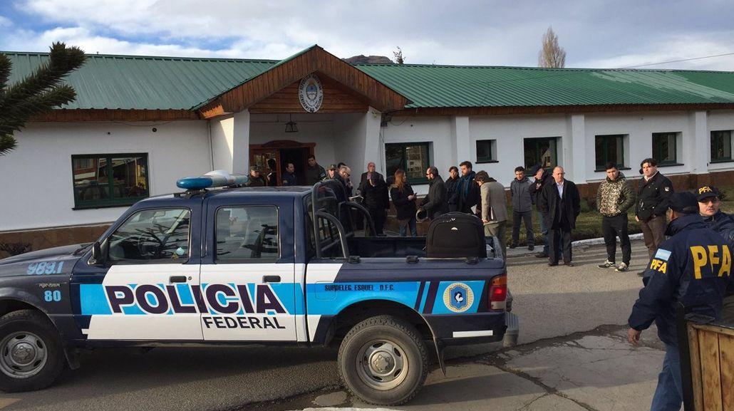La Policía Federal participaba del operativo
