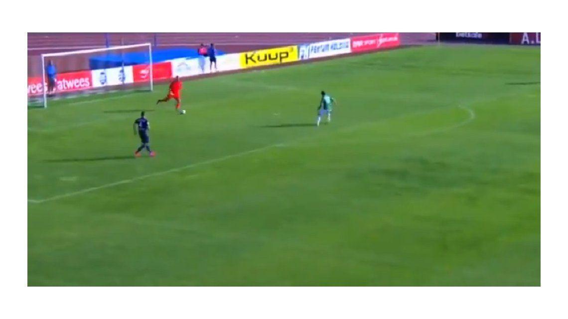 Nunca visto: Levadia hizo un gol a los 16 segundos y ¡sin tocar la pelota! en Estonia