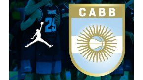 Jordan, marca de la Confederación Argentina de Básquetbol