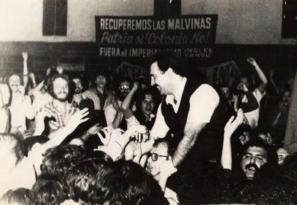 Patricio Echegaray en los 80