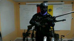 El soldado asumió el rol de cara visible de la operación ninja