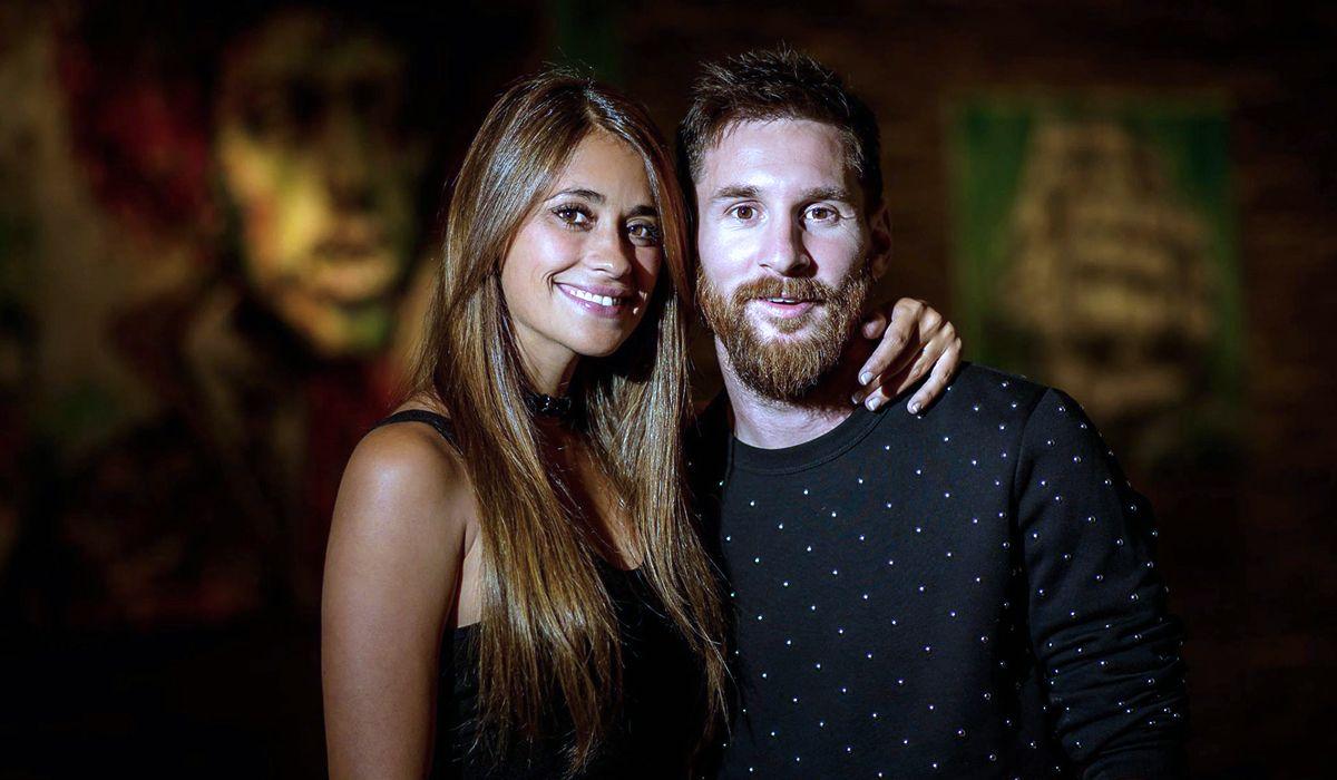 Antonela y Messi