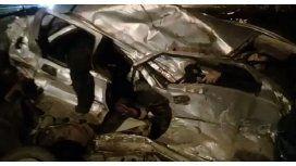 Cuatro muertos por el choque de un auto y un camión en Pilar