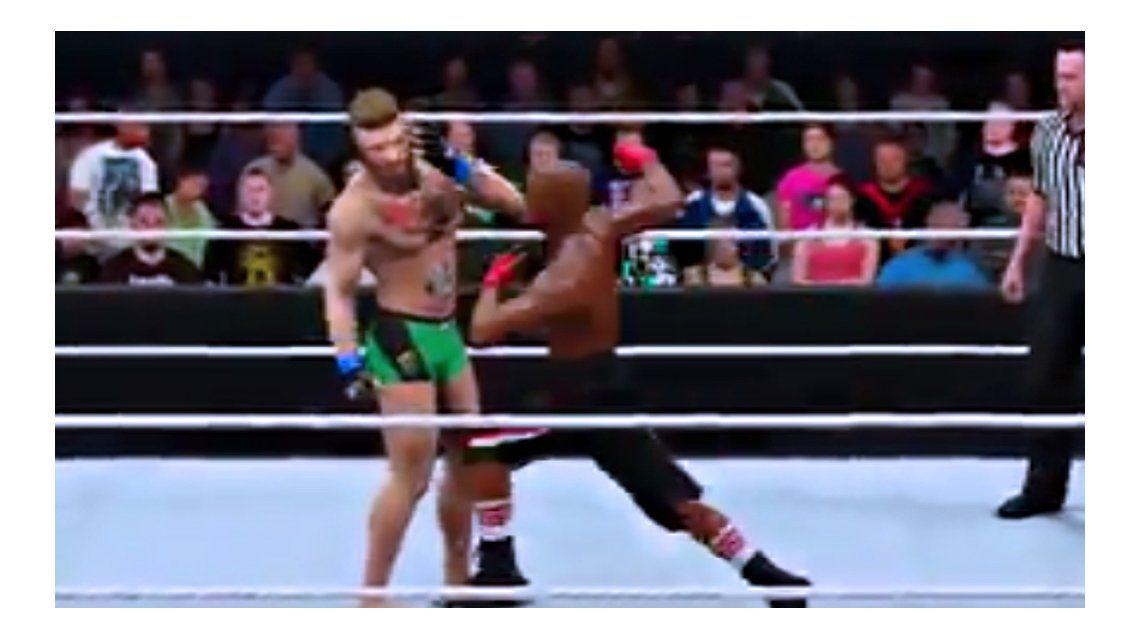 El video que imagina cómo será la pelea entre Mayweather y McGregor