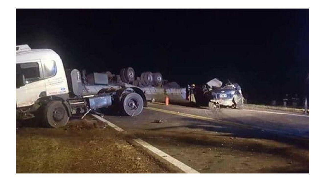Cuatro personas murieron en el accidente