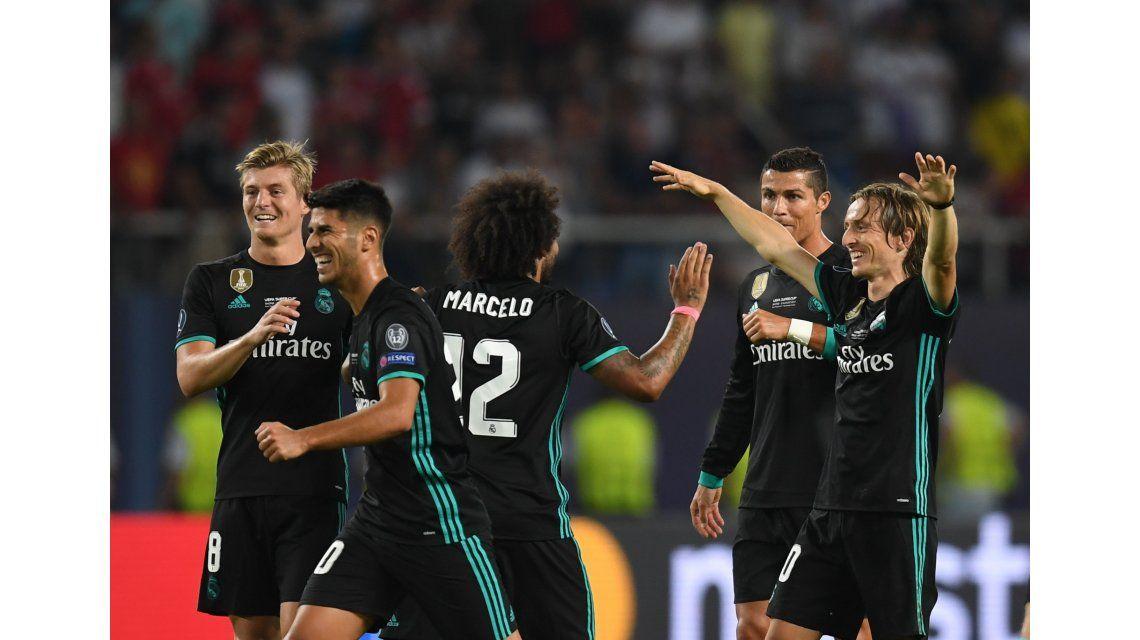 Real Madrid venció al Manchester United y es campeón de la Supercopa de Europa