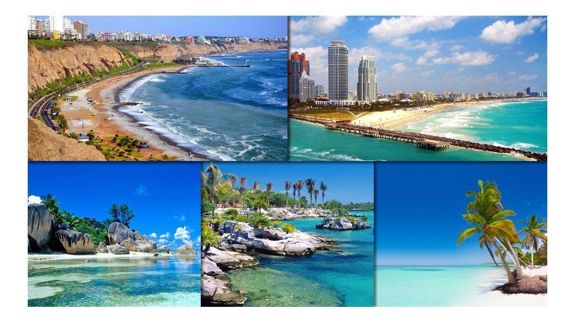 Los 10 destinos más elegidos por los turistas argentinos en el exterior
