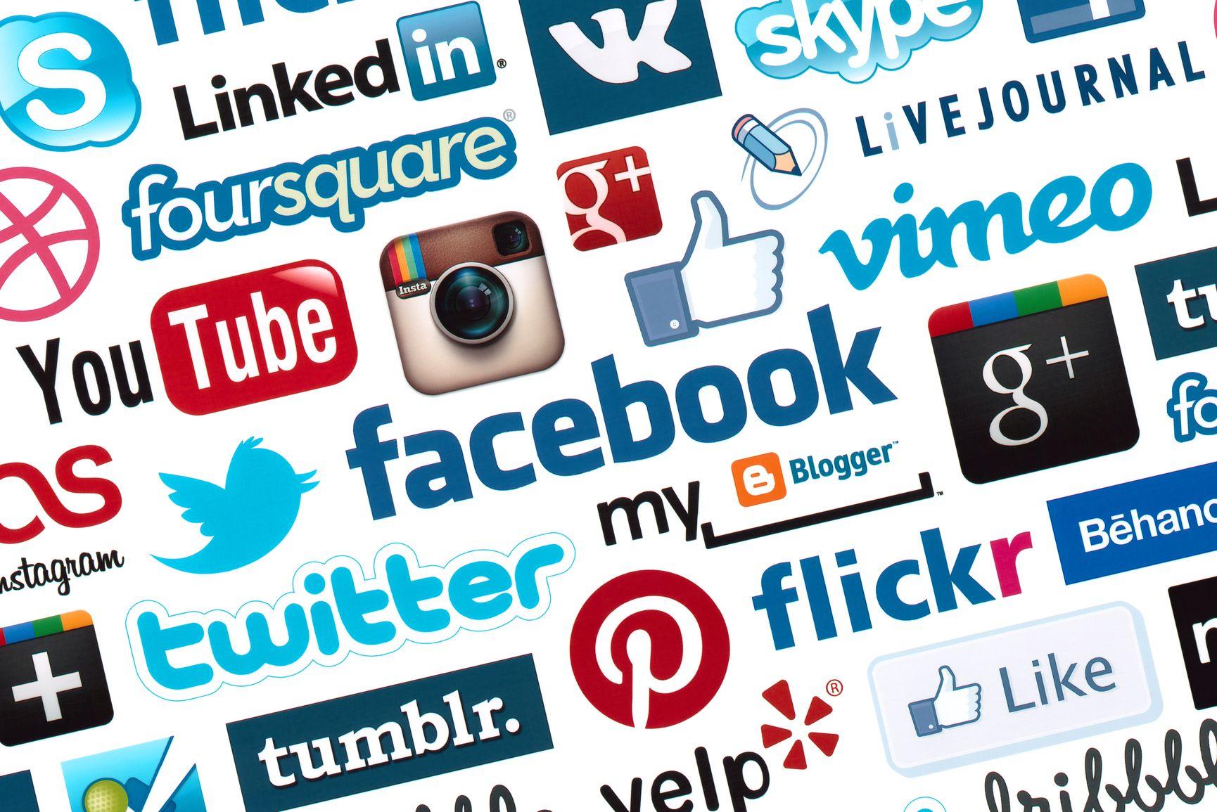 Las redes sociales más usadas del mundo