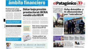Tapas de diarios del martes 8 de agosto de 2017