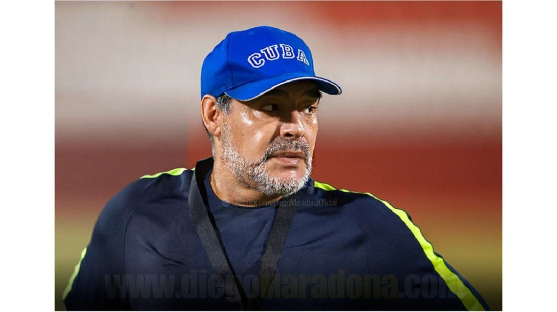 Maradona respaldó a Maduro por una Venezuela libre