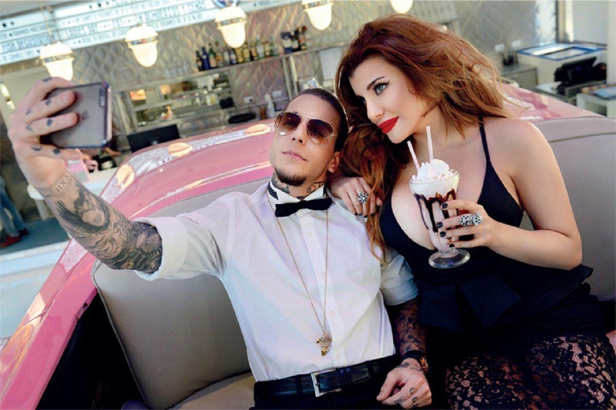 Alexander y Charlotte Caniggia