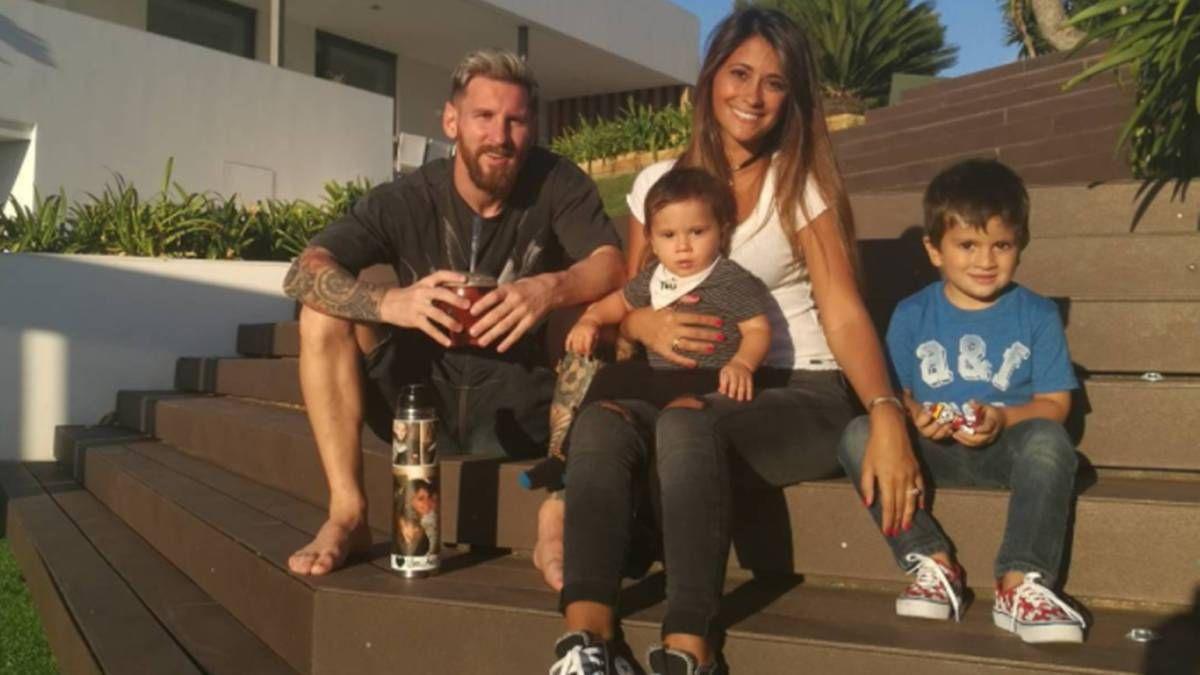 Los hijos de Messi