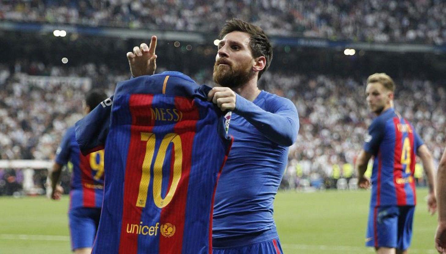 Messi fue elegido como el mejor jugador de la historia de la Liga española