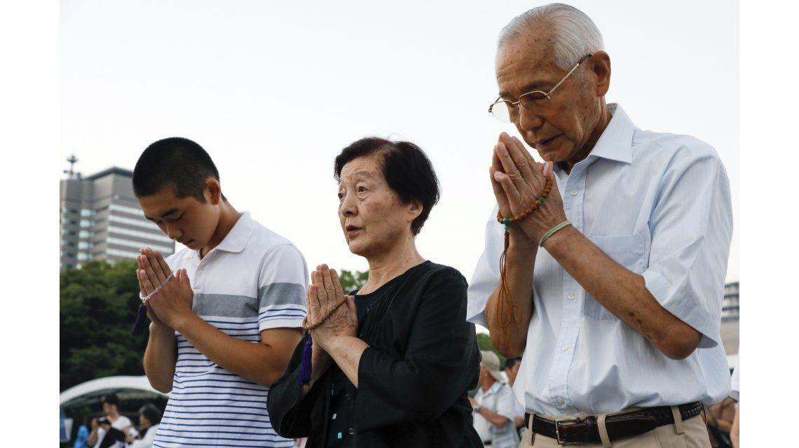 Conmemoración por los 72 años de la bomba nuclear en Hiroshima