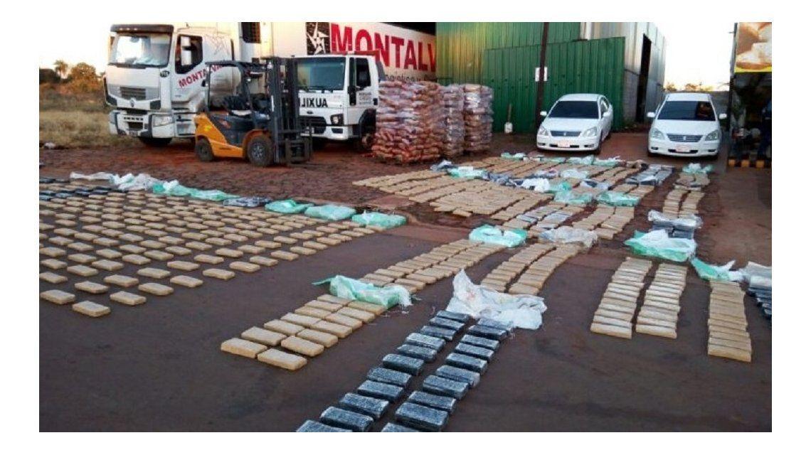 Secuestraron 4 toneladas de marihuana en Misiones - Crédito: misionescuatro.com