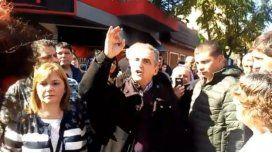 Moreno denunció la situación durante el acto de este sábado en Lugano