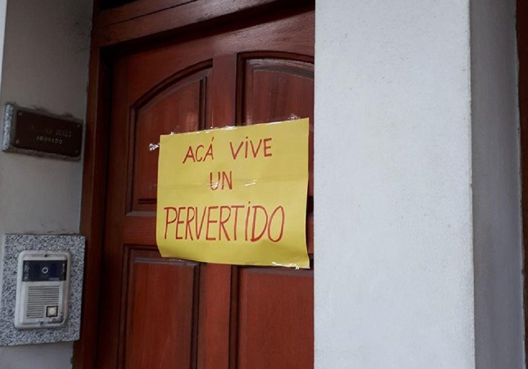 Escracharon la casa de Gustavo Rivas en Gualeguaychú<br>