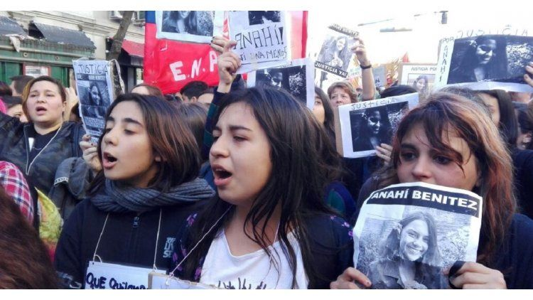 Masiva marcha al Congreso en reclamo de justicia por Anahí