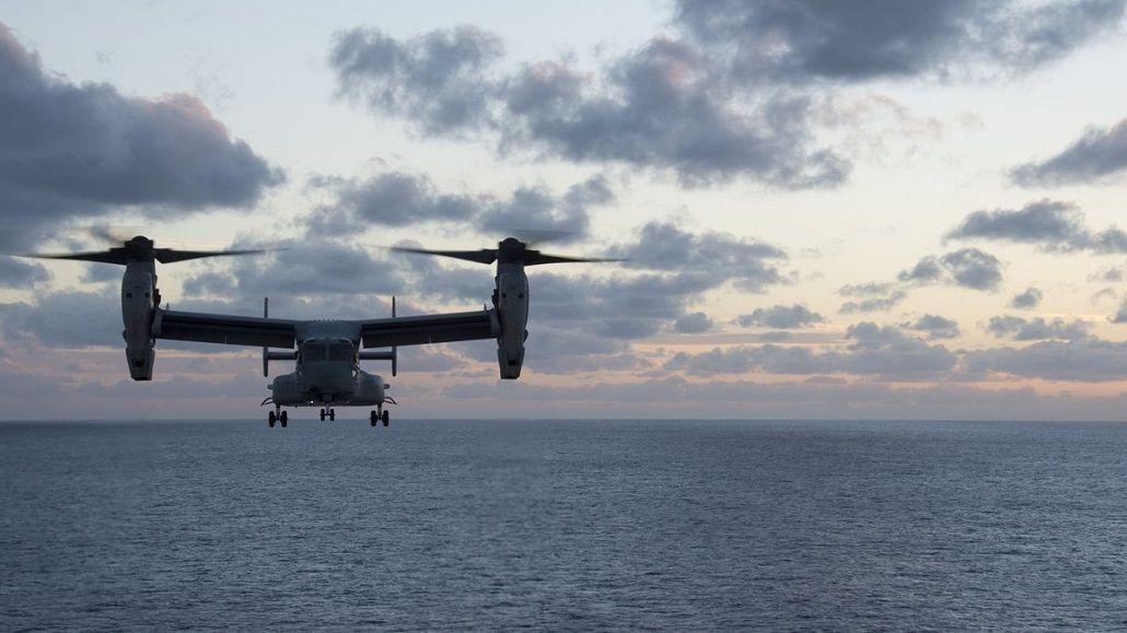 Se estrelló un avión de la marina estadounidense en Australia