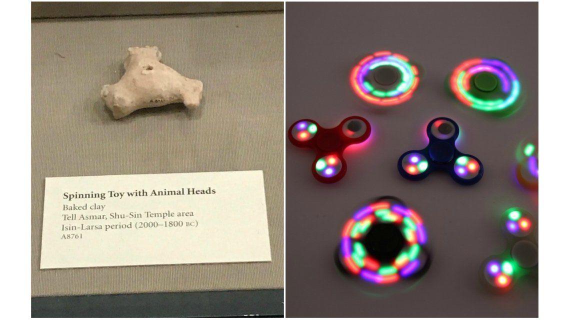 Spinner de hace 4.000 años