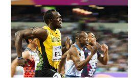 Usain Bolt empieza a despedirse en el Mundial de Atletismo