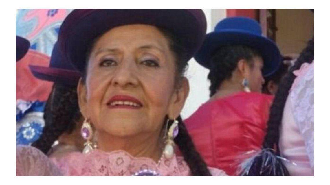 Carmen tiene 69 años y la velaron antes de tiempo en La Paz
