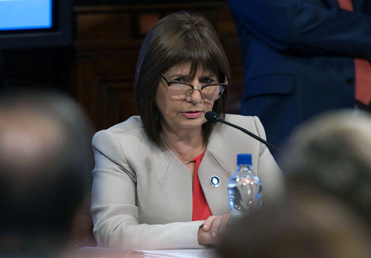 Bullrich: No hay indicios de que Gendarmería haya actuado con violencia