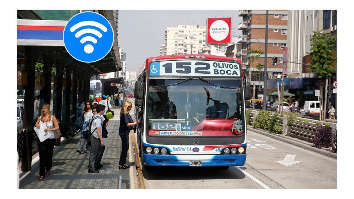 Las 15 líneas de colectivo que tendrán WiFi