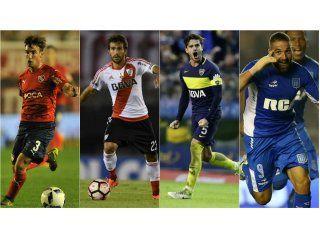 Tagliagico, Ponzio, Gago y Licha López