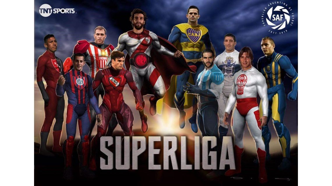 Arranca la Superliga: estos son los superhéroes del fútbol argentino