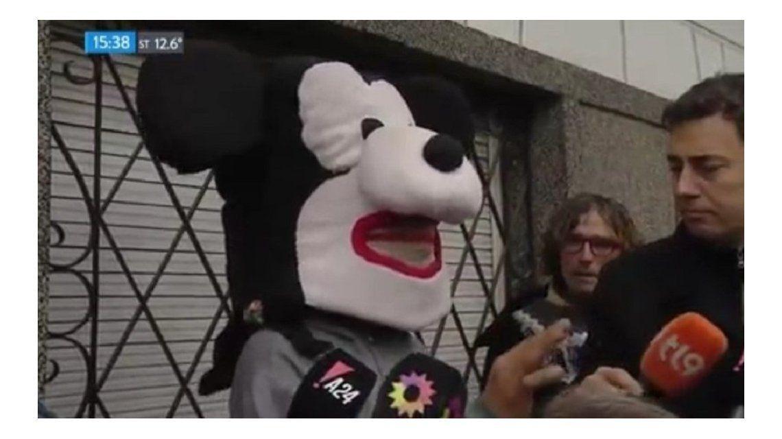 Disfrazado de Mickey