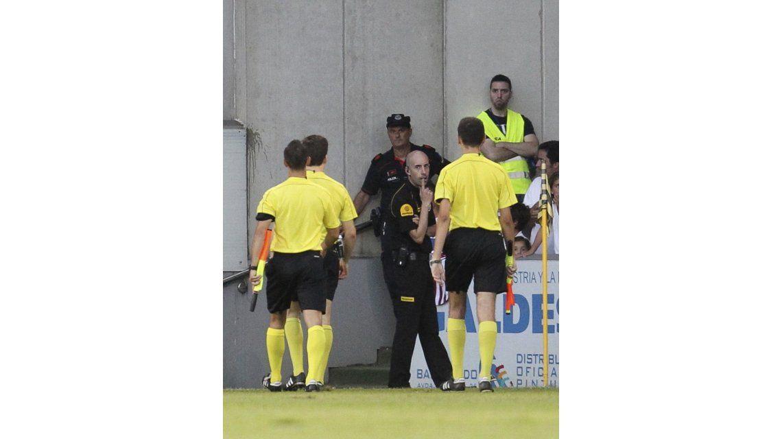Alexis Ruano y una falta de respeto a un arbitro en España: Eres un puto