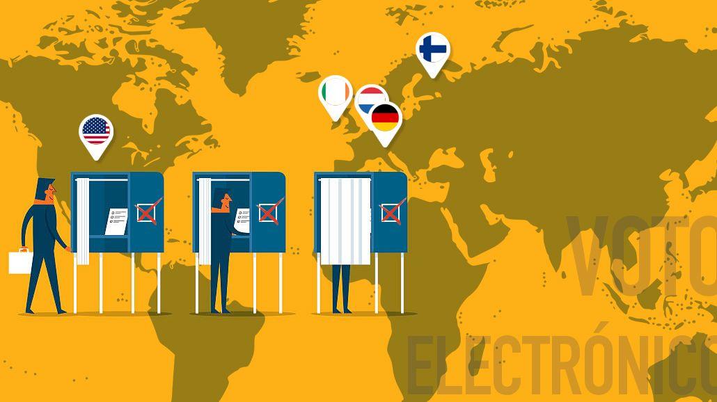¿Cómo funciona el voto electrónico y por qué fracasó en otros países?