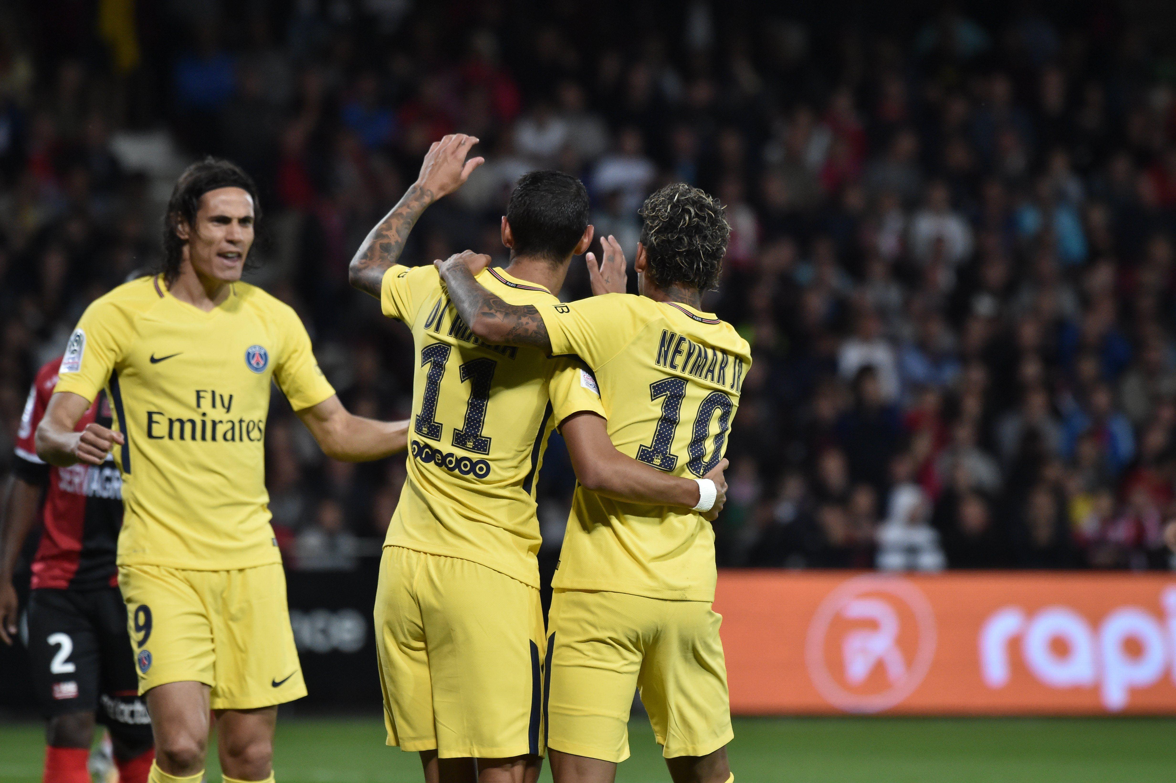 El argentina forma parte del nuevo gran tridente del fútbol mundial con Cavani y Neymar